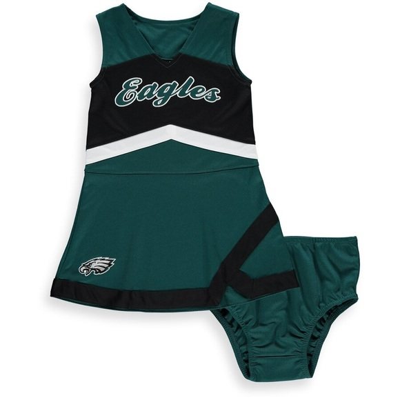 check out d14dc 27e52 Philadelphia Eagles Cheer Captain Jumper Dress Boutique